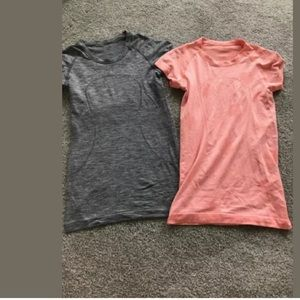Lululemon Swiftly Tee Shirt Sz 4